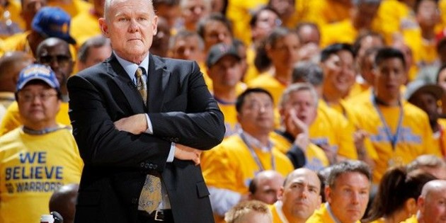 George Karl voted winner of the 2012-13 Rudy Tomjanovich Award