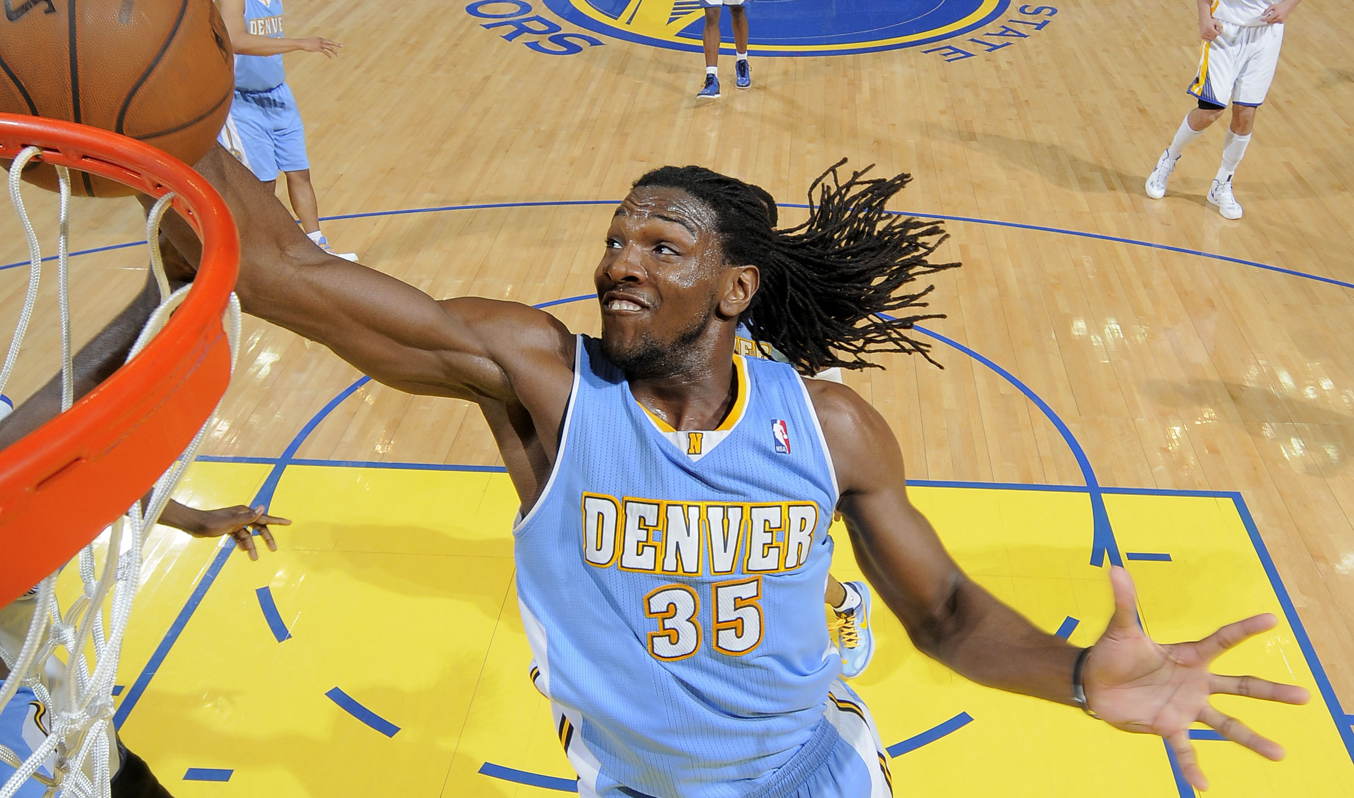 Kenneth Faried wins 2012-13 J. Walter Kennedy Citizenship Award