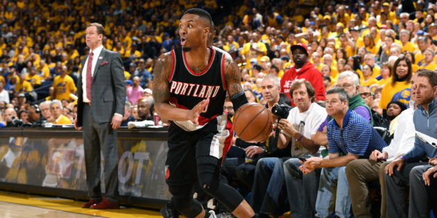 Damian Lillard wins PBWA's 2016-17 Magic Johnson Award